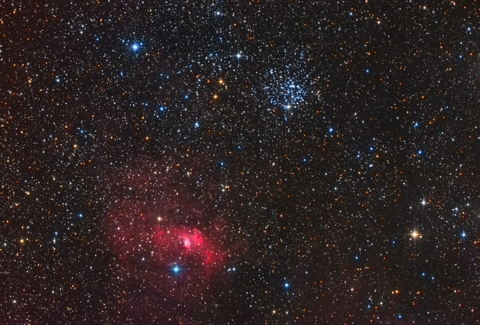 M52-BUBBLE POST
